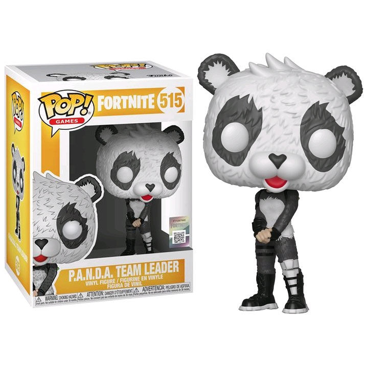Photo du produit FUNKO POP P.A.N.D.A TEAM LEADER FORTNITE