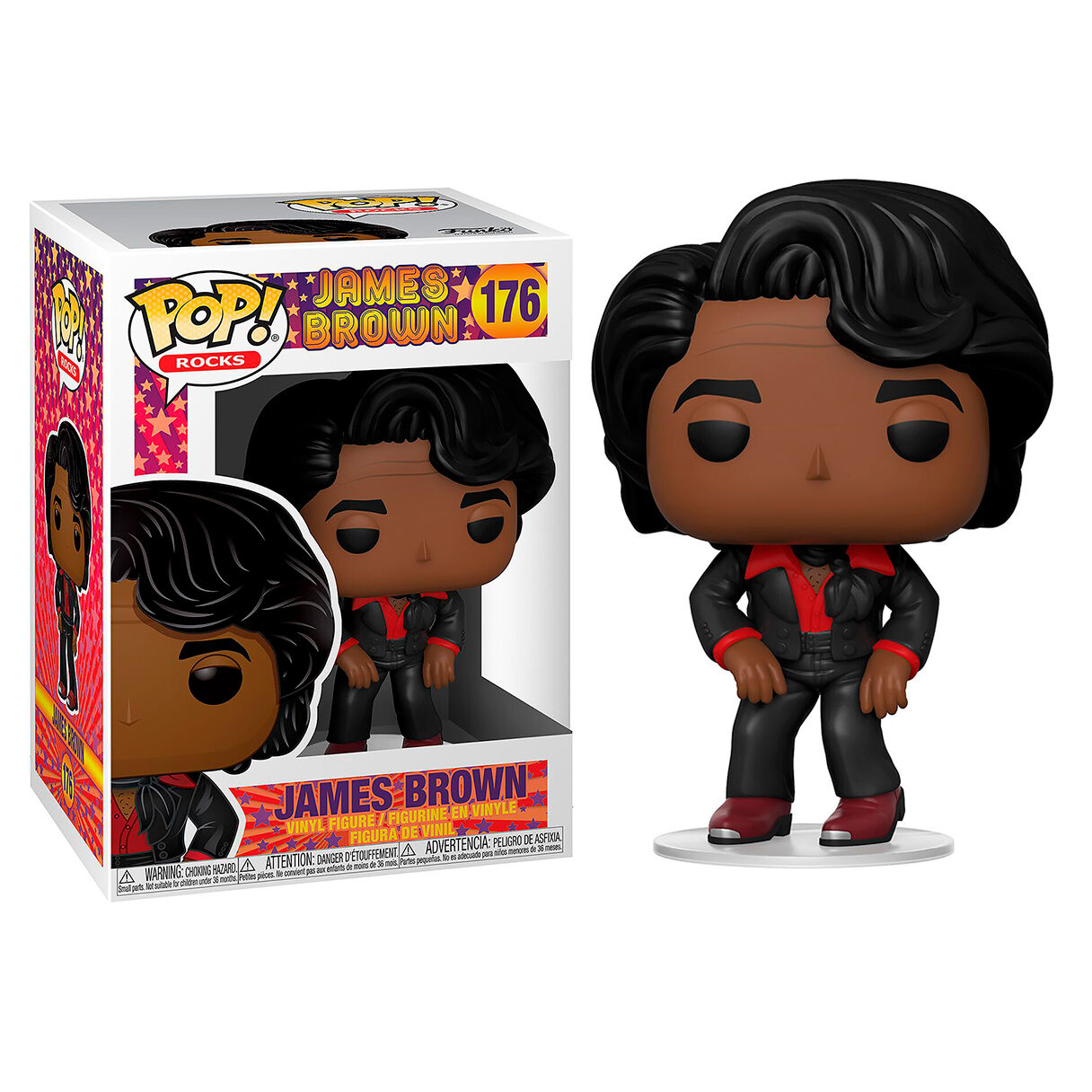 Photo du produit LONDON TOY FAIR FUNKO POP JAMES BROWN