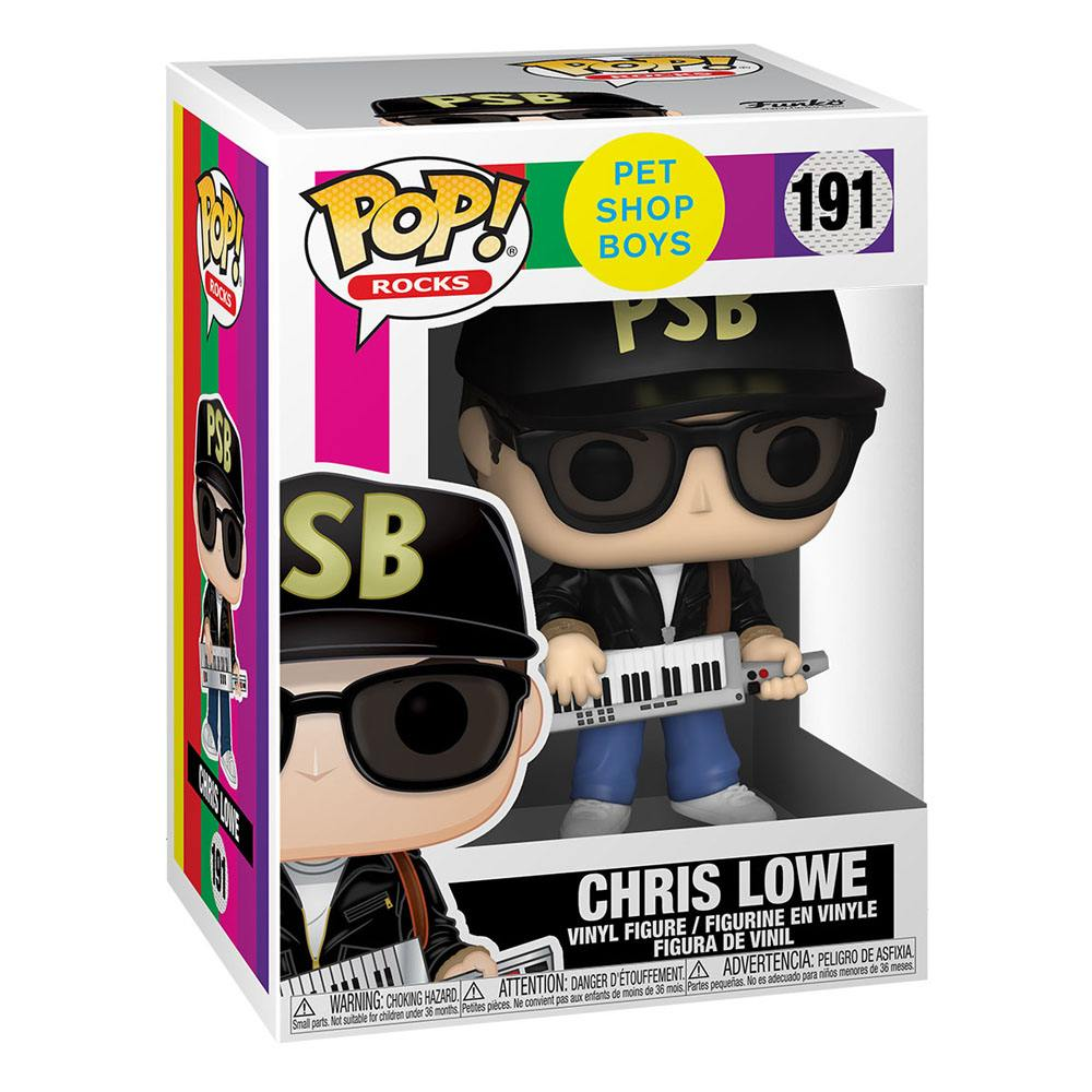Photo du produit FUNKO POP ROCKS PET SHOP BOYS FIGURINE CHRIS LOWE