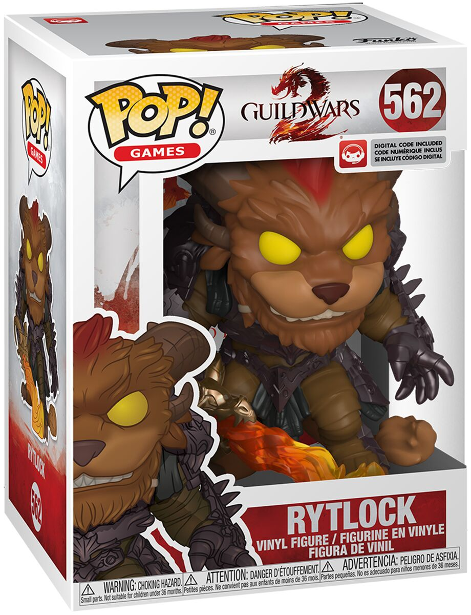 Photo du produit GUILD WARS 2 POP! GAMES VINYL FIGURINE RYTLOCK