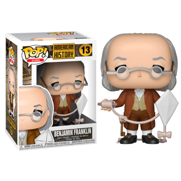 Photo du produit FUNKO POP HISTORY BENJAMIN FRANKLIN