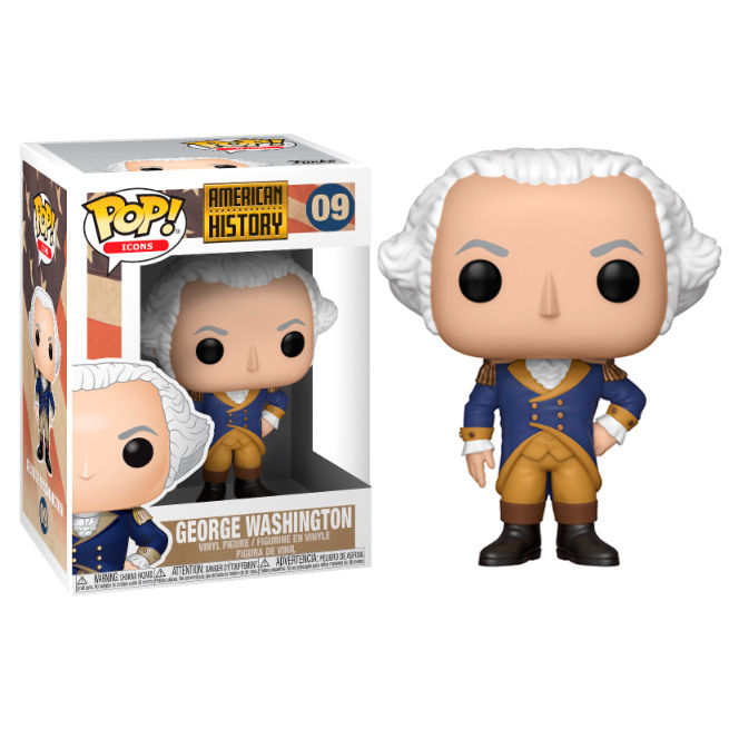 Photo du produit FUNKO POP HISTORY GEORGE WASHINGTON