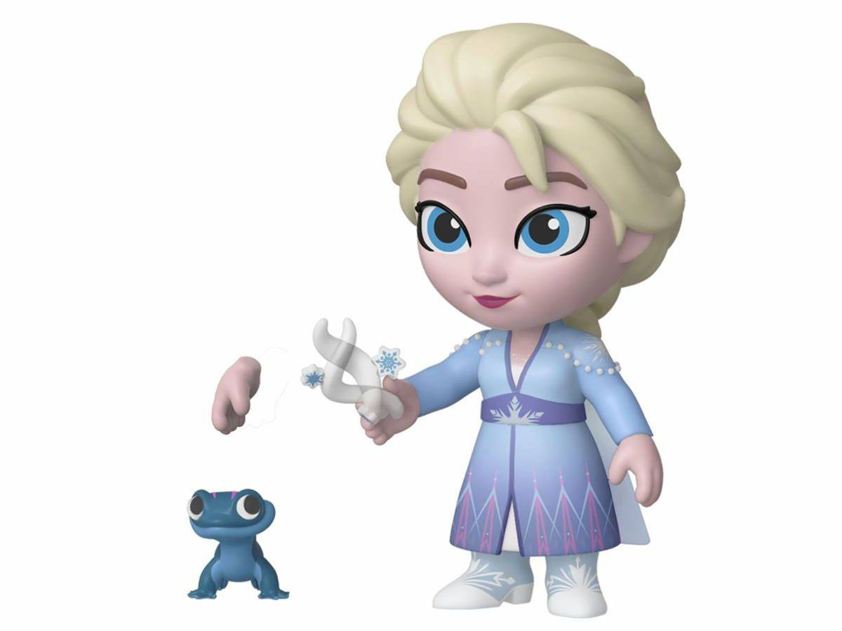 Photo du produit LA REINE DES NEIGES 2 FIGURINE 5 STAR ELSA 8 CM