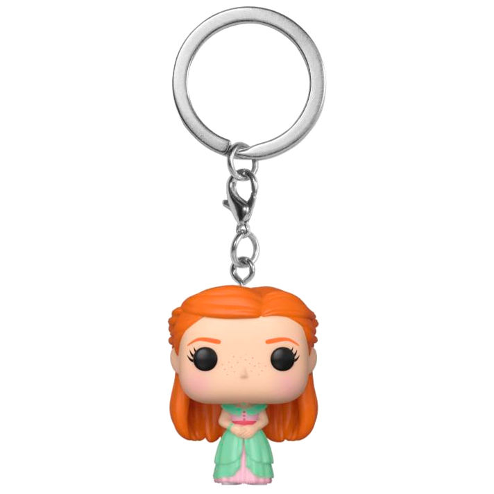 Photo du produit HARRY POTTER PORTE-CLÉS POCKET POP! VINYL GINNY (YULE)