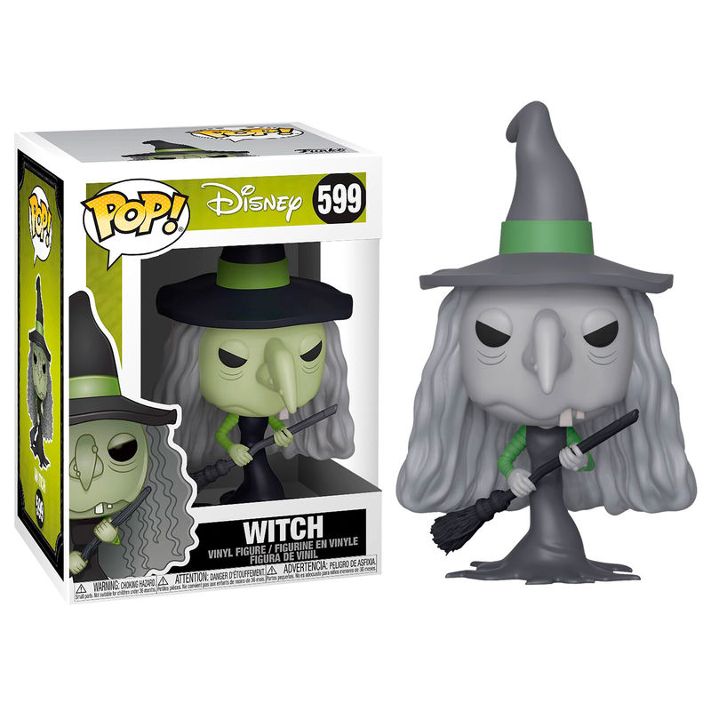 Photo du produit L´ÉTRANGE NOËL DE MR. JACK FIGURINE FUNKO POP! WITCH