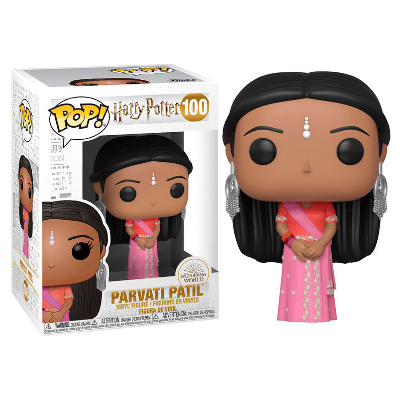 Photo du produit FUNKO POP HARRY POTTER PARVATI PATIL (YULE)