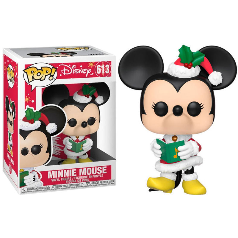 Photo du produit DISNEY HOLIDAY POP! DISNEY VINYL FIGURINE MINNIE