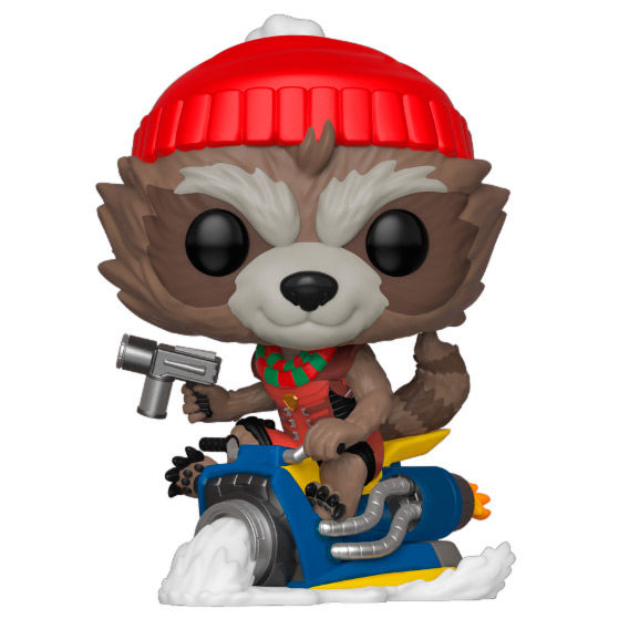 Photo du produit MARVEL HOLIDAY FIGURINE POP! MARVEL VINYL ROCKET