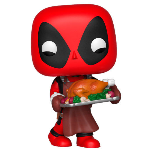 Photo du produit MARVEL HOLIDAY FIGURINE POP! MARVEL VINYL DEADPOOL