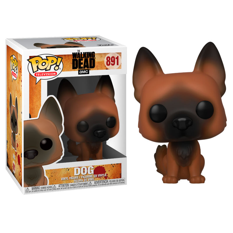 Photo du produit POP! WALKING DEAD FIGURINE DOG