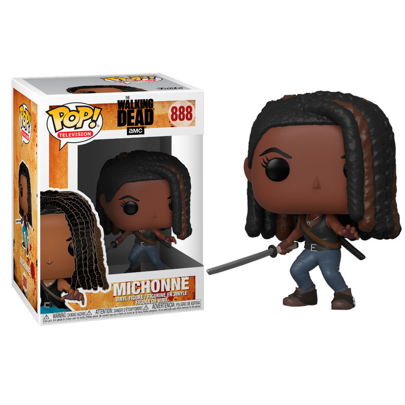 Photo du produit POP! WALKING DEAD FIGURINE MICHONNE
