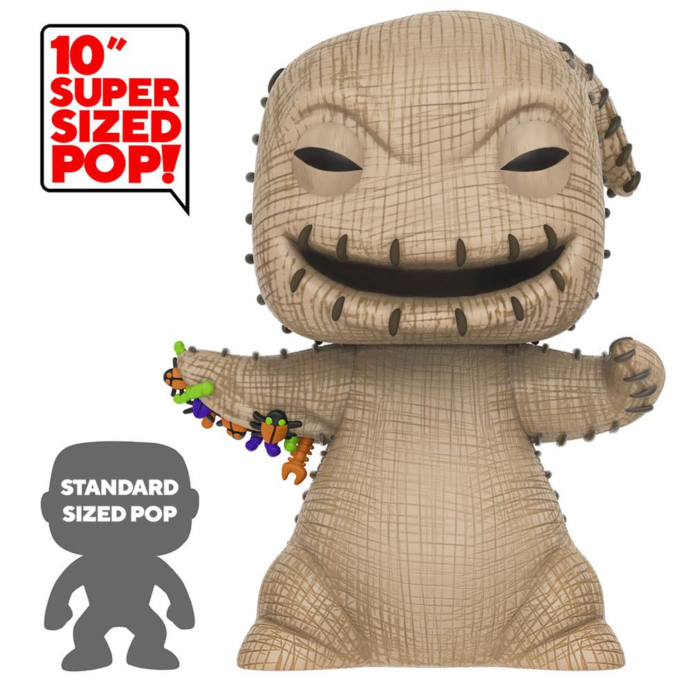 Photo du produit NIGHTMARE BEFORE CHRISTMAS SUPER SIZED POP! OOGIE BOOGIE 25 CM