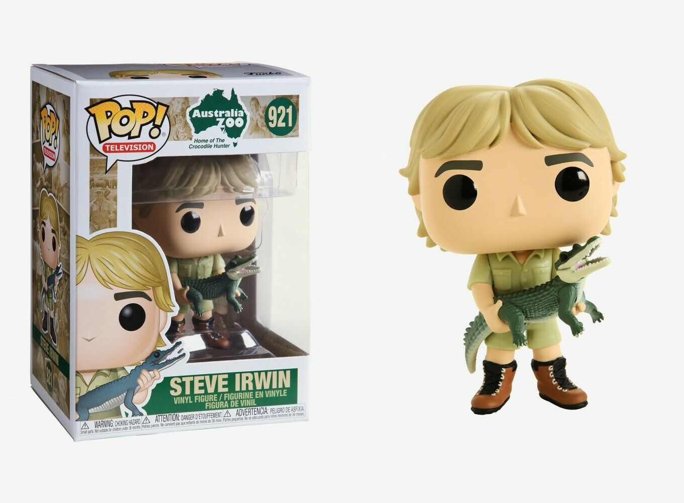 Photo du produit FIGURINE FUNKO POP CROCODILE HUNTER STEVE IRWIN