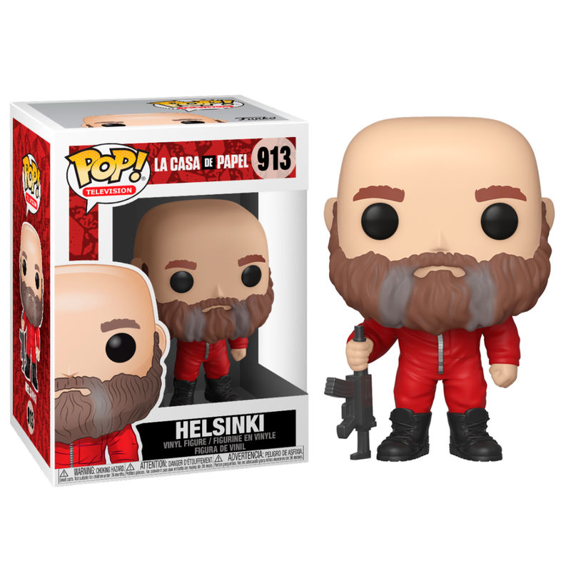 Photo du produit FIGURINE FUNKO POP LA CASA DE PAPEL HELSINKI