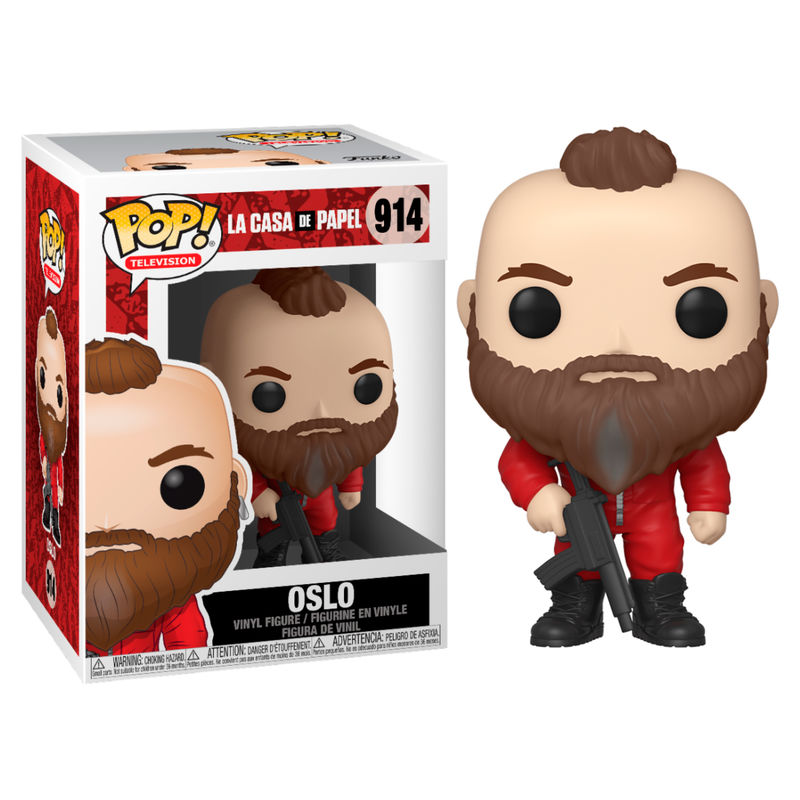 Photo du produit FIGURINE FUNKO POP LA CASA DE PAPEL OSLO