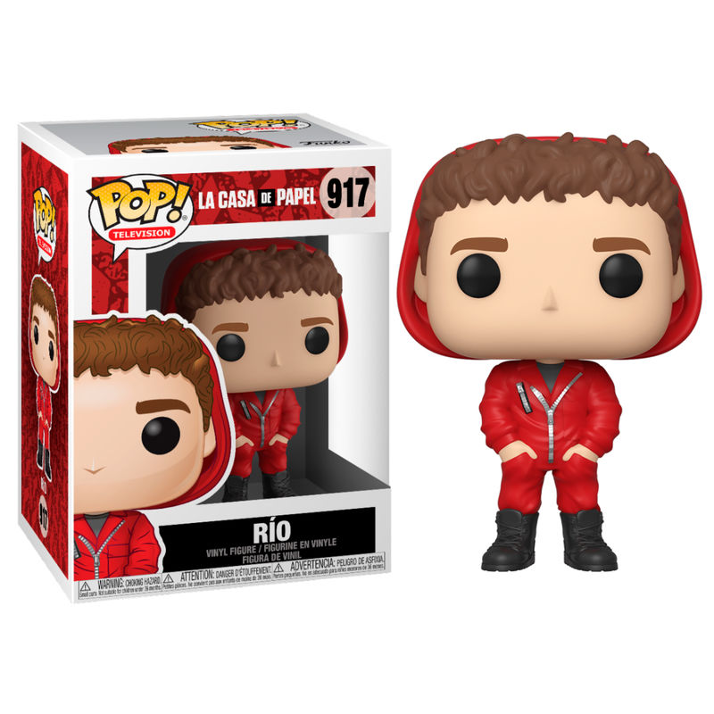 Photo du produit FIGURINE FUNKO POP LA CASA DE PAPEL RIO