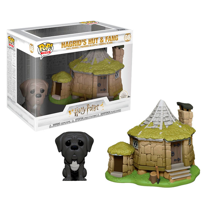 Photo du produit HARRY POTTER POP! TOWN VINYL FIGURINE HAGRID'S HUT & FANG
