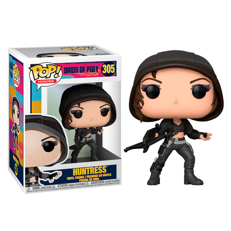 Photo du produit FUNKO POP DC BIRDS OF PREY HUNTRESS