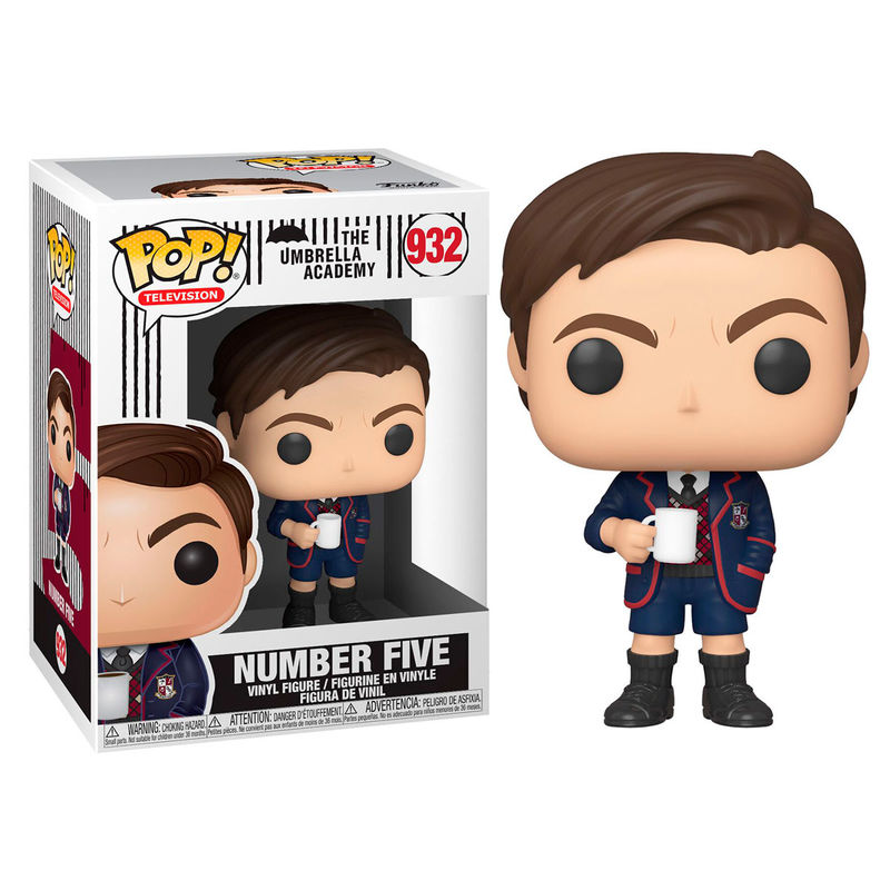 Photo du produit FUNKO POP UMBRELLA ACADEMY NUMBER FIVE
