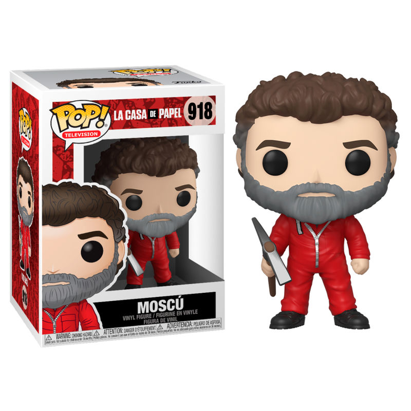 Photo du produit FIGURINE FUNKO POP LA CASA DE PAPEL MOSCOW
