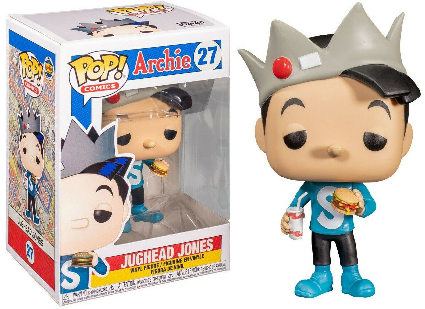 Photo du produit ARCHIE COMICS FUNKO POP! JUGHEAD