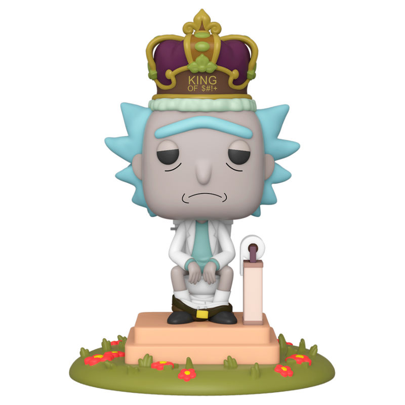 Photo du produit RICK & MORTY FUNKO POP! FIGURINE SONORE RICK ON TOILET
