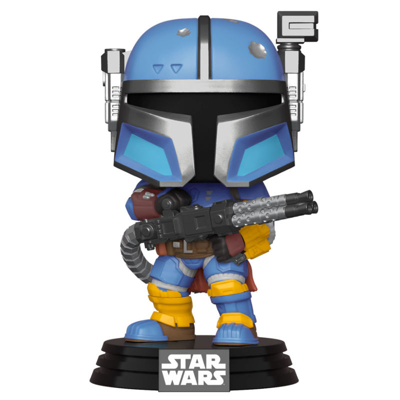 Photo du produit FUNKO POP STAR WARS THE MANDALORIAN HEAVY INFANTRY MANDALORIA