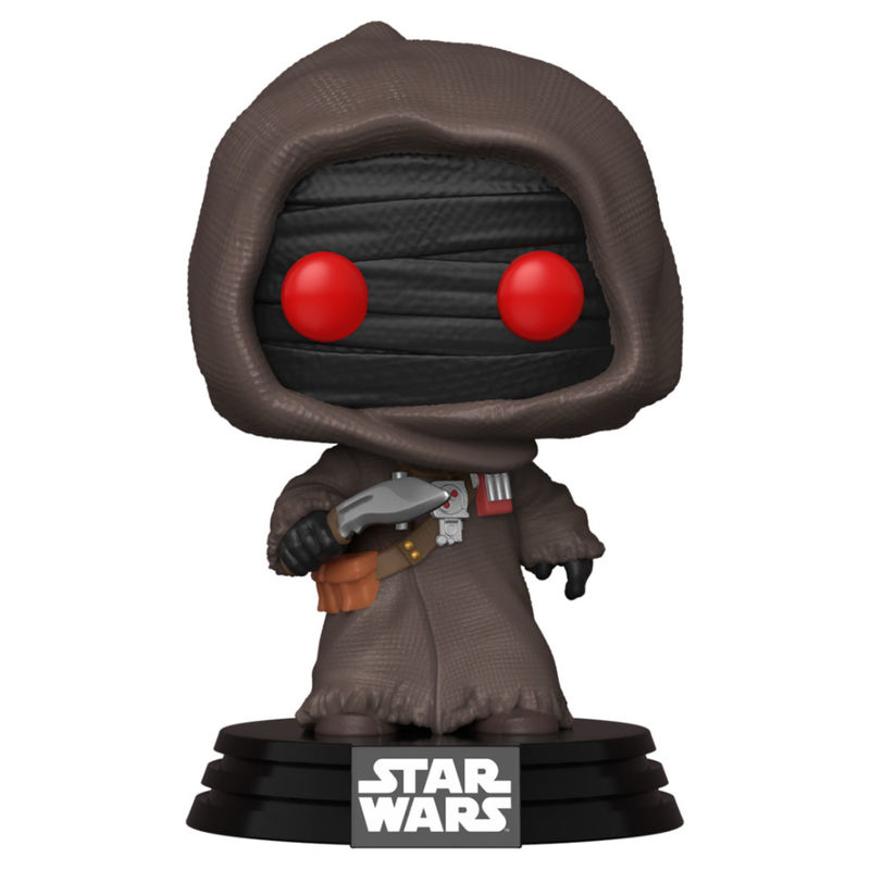 Photo du produit FUNKO POP STAR WARS THE MANDALORIAN OFFWORLD JAWA
