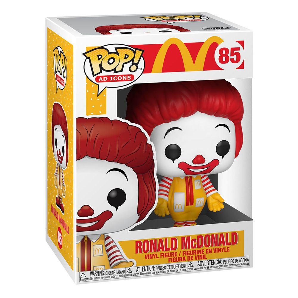 Photo du produit MCDONALD'S POP! AD ICONS FIGURINE RONALD MCDONALD