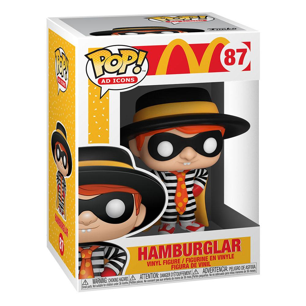 Photo du produit MCDONALD'S POP! AD ICONS VINYL FIGURINE HAMBURGLAR