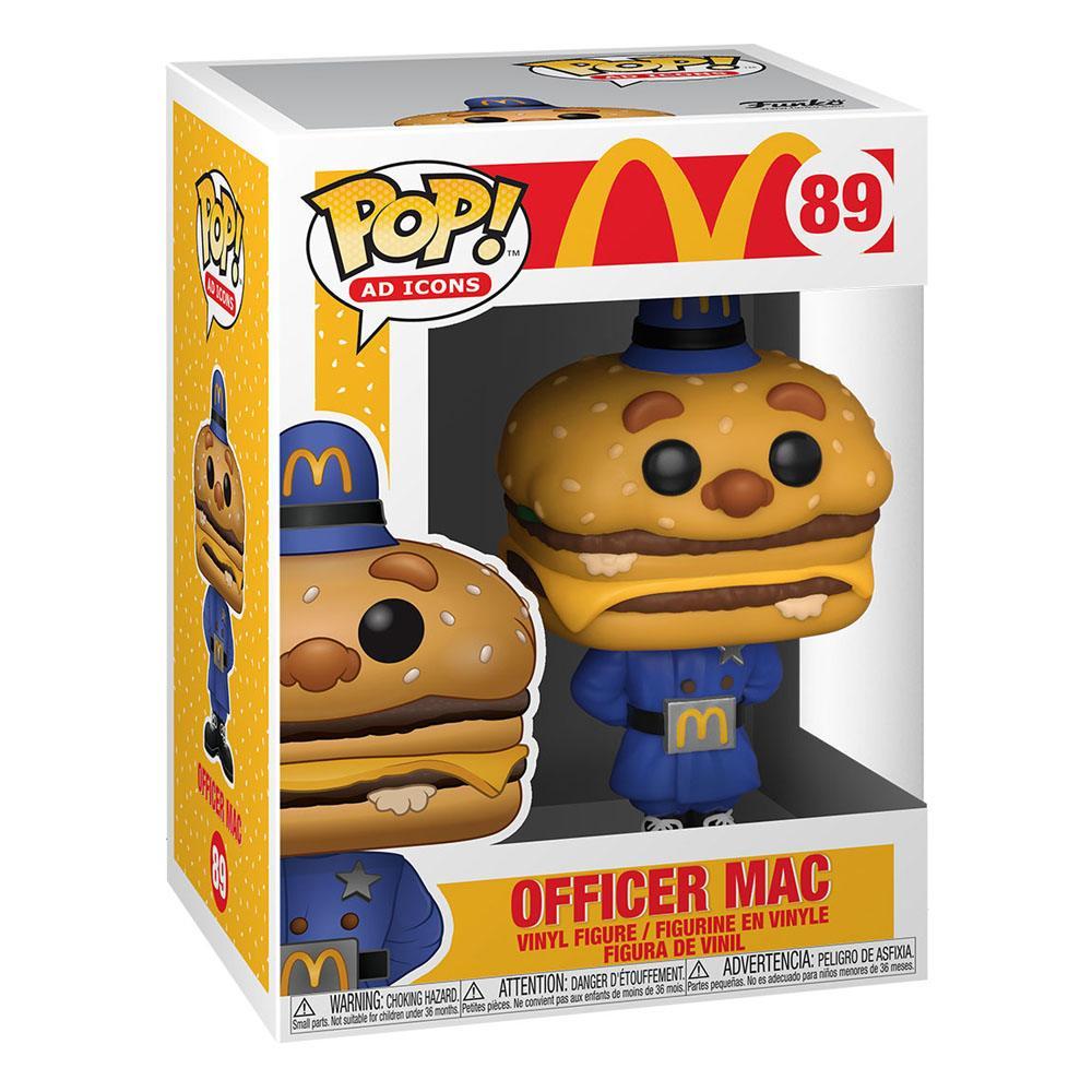 Photo du produit MCDONALD'S POP! AD ICONS VINYL FIGURINE OFFICER MAC