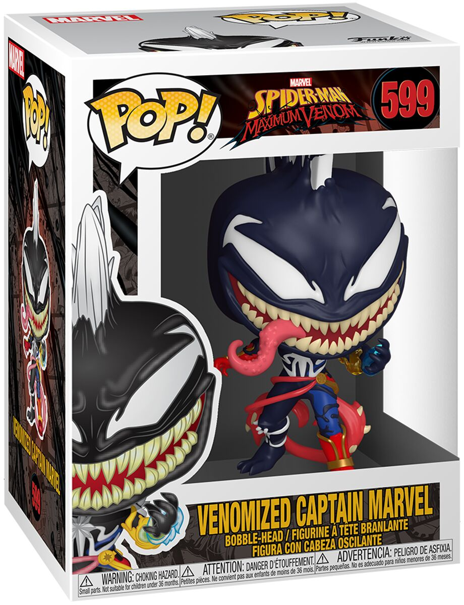 Photo du produit MARVEL VENOM POP! MARVEL FIGURINE CAPTAIN MARVEL 9 CM