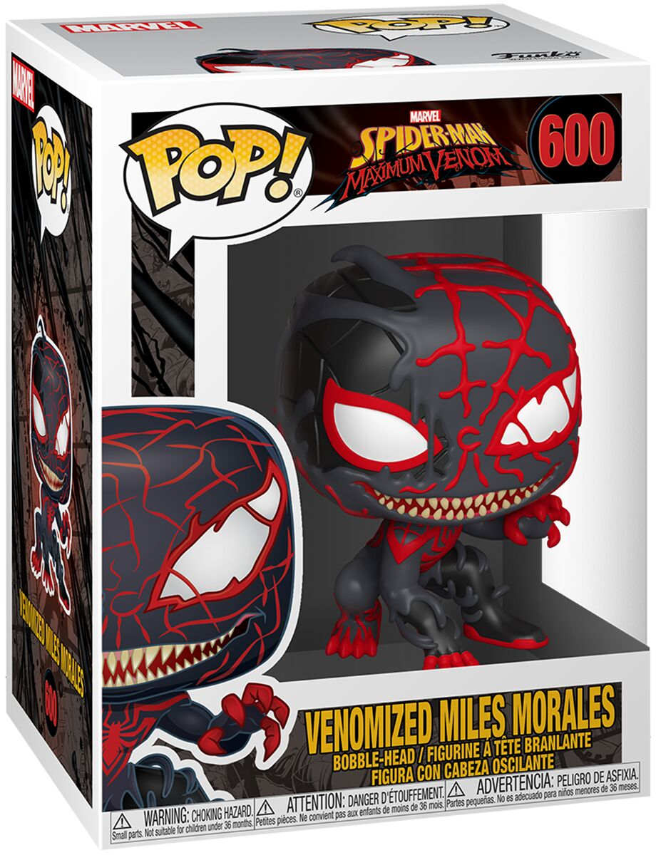 Photo du produit MARVEL VENOM POP! MARVEL FIGURINE MILES MORALES 9 CM
