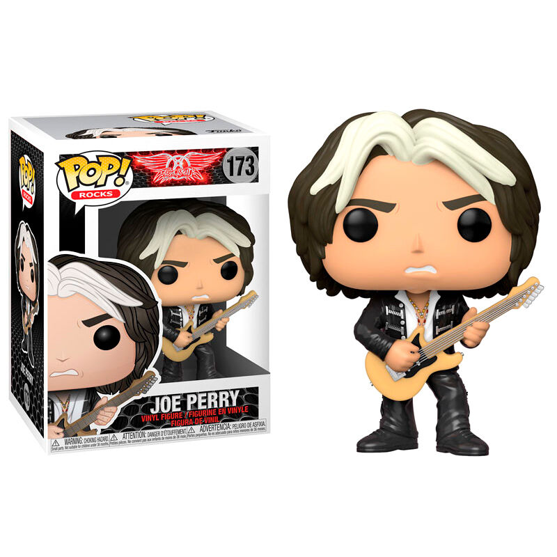 Photo du produit AEROSMITH FUNKO POP! ROCKS FIGURINE JOE PERRY