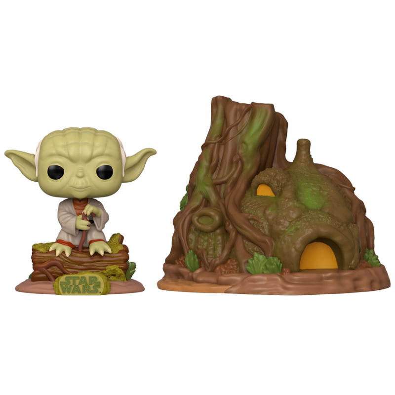 Photo du produit FUNKO POP STAR WARS YODA'S HUT