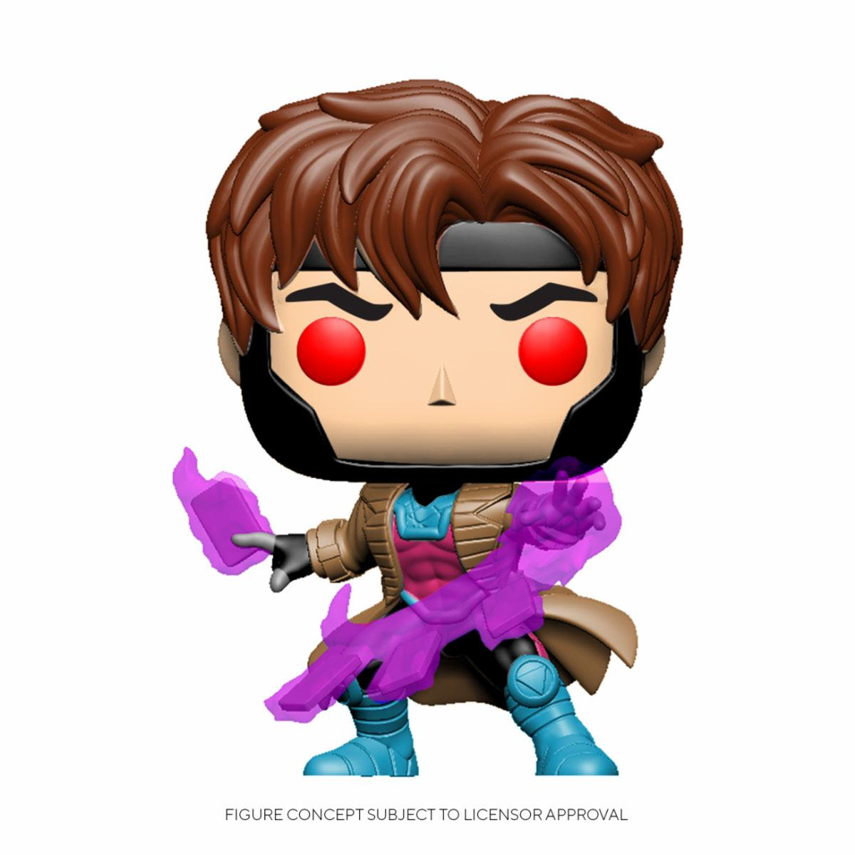 Photo du produit MARVEL COMICS FIGURINE POP! MARVEL VINYL BOBBLE HEAD GAMBIT WITH CARDS
