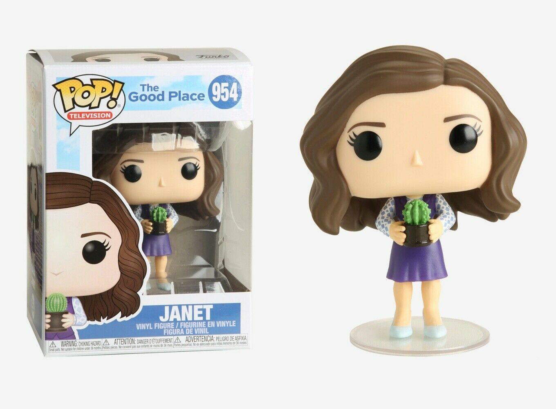 Photo du produit The Good Place POP! TV Vinyl Figurine Janet