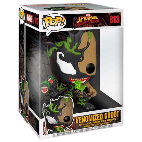 Photo du produit MARVEL VENOM SUPER SIZED POP! MOVIES FIGURINE GROOT 25 CM