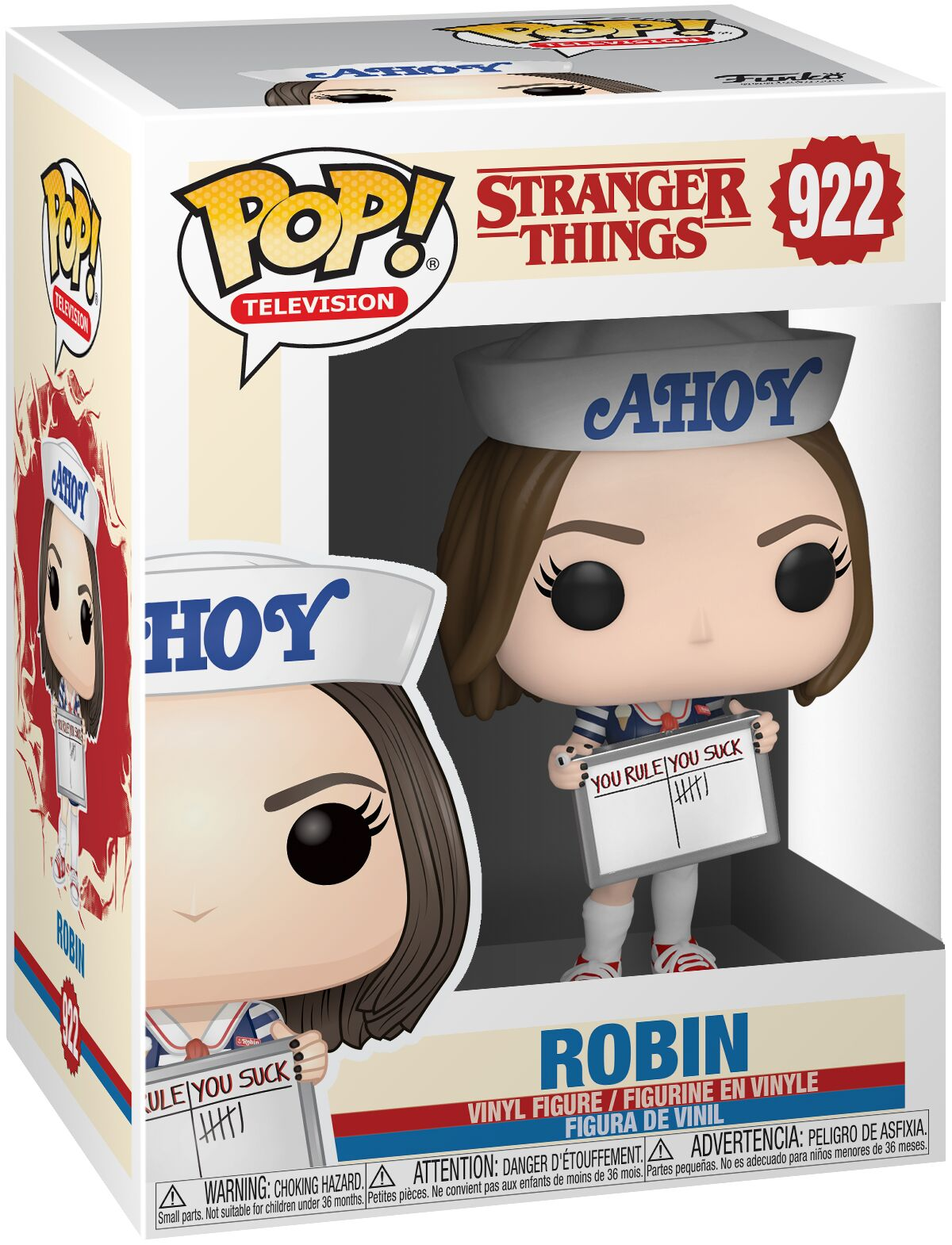 Photo du produit FIGURINE FUNKO POP STRANGER THINGS ROBIN