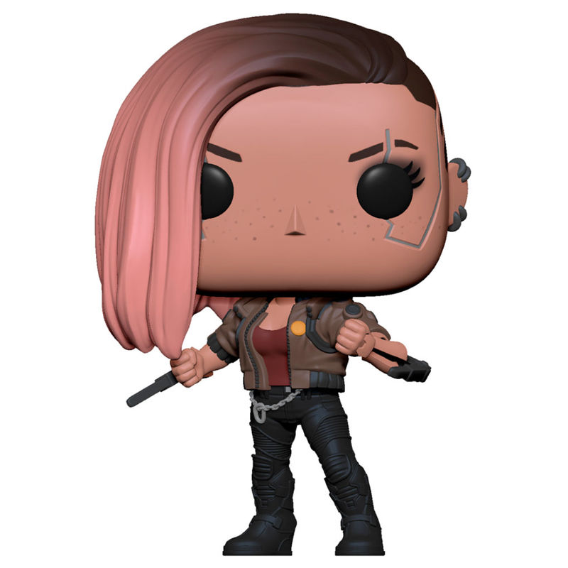 Photo du produit CYBERPUNK 2077 POP! GAMES VINYL FIGURINE V-FEMALE