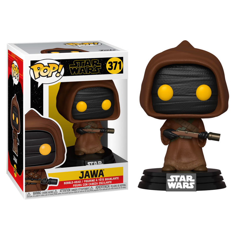 Photo du produit STAR WARS POP! MOVIES VINYL FIGURINE CLASSIC JAWA