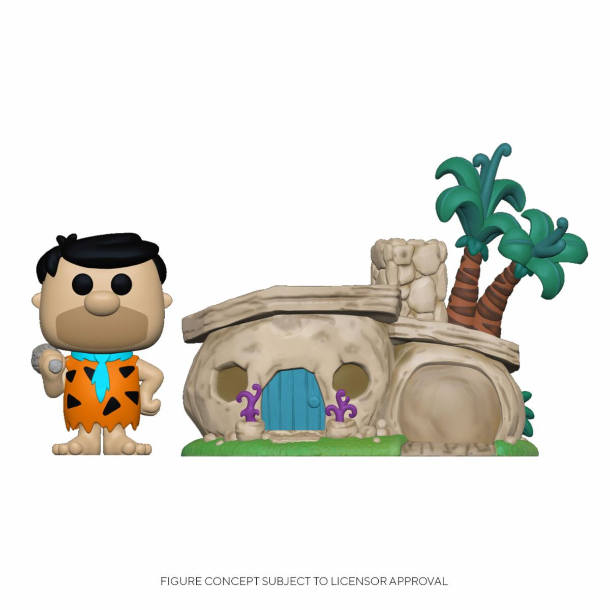 Photo du produit LES PIERRAFEU FUNKO POP! TOWN VINYL FIGURINE FLINTSTONE'S HOME