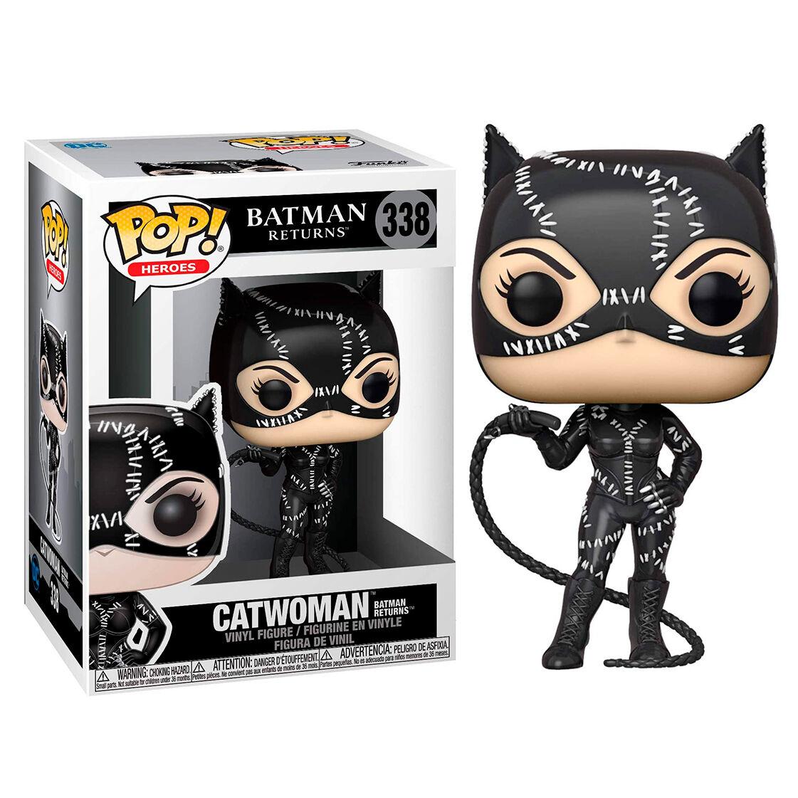 Photo du produit BATMAN RETURNS POP! HEROES VINYL FIGURINE CATWOMAN