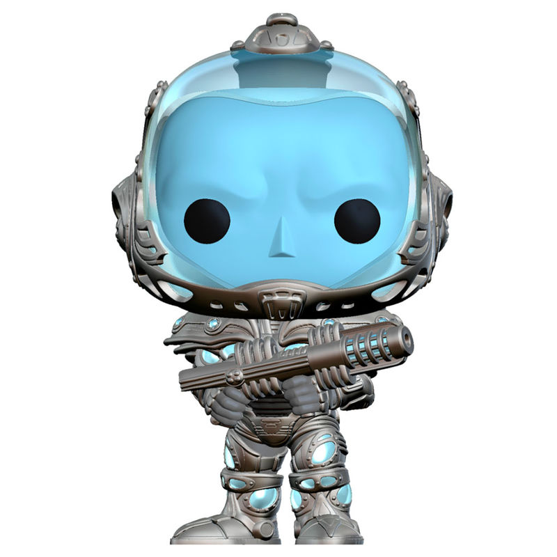 Photo du produit BATMAN & ROBIN POP! HEROES VINYL FIGURINE MR. FREEZE