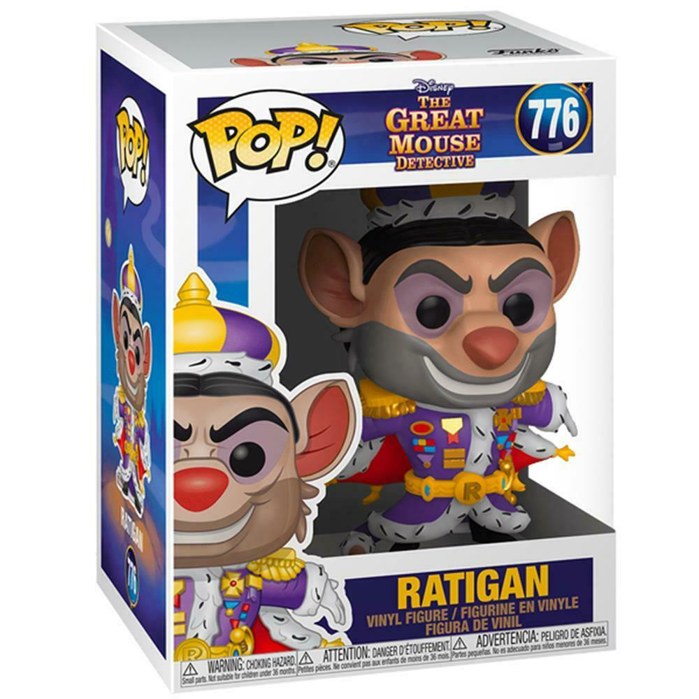 Photo du produit BASIL, DÉTECTIVE PRIVÉ FUNKO POP! DISNEY RATIGAN