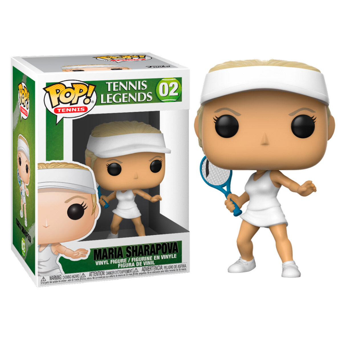 Photo du produit FIGURINE TENNIS LEGENDS FUNKO POP! SPORTS MARIA SHARAPOVA