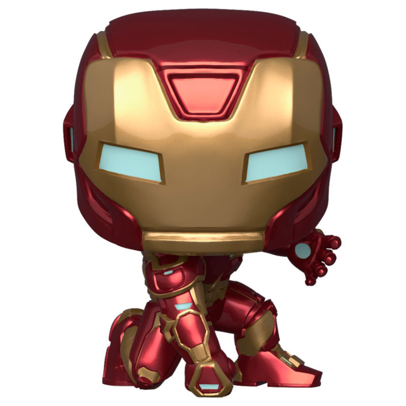 Photo du produit FUNKO POP MARVEL AVENGERS GAME IRON MAN STARK TECH SUIT