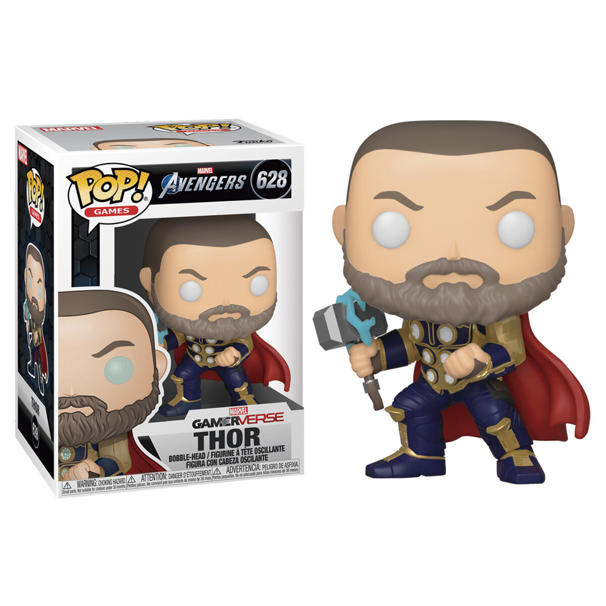 Photo du produit FUNKO POP MARVEL AVENGERS GAME THOR STARK TECH SUIT