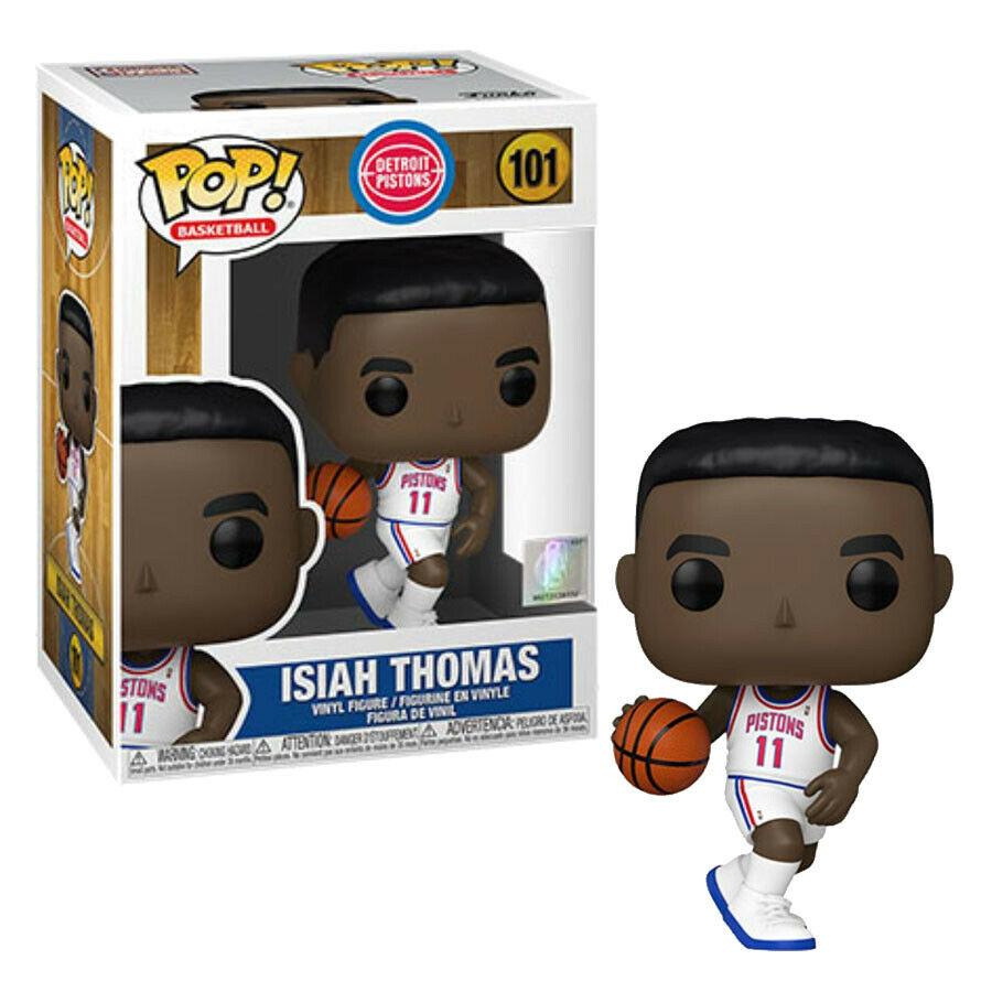 Photo du produit NBA Legends POP! Sports Vinyl figurine Isiah Thomas (Pistons Home)