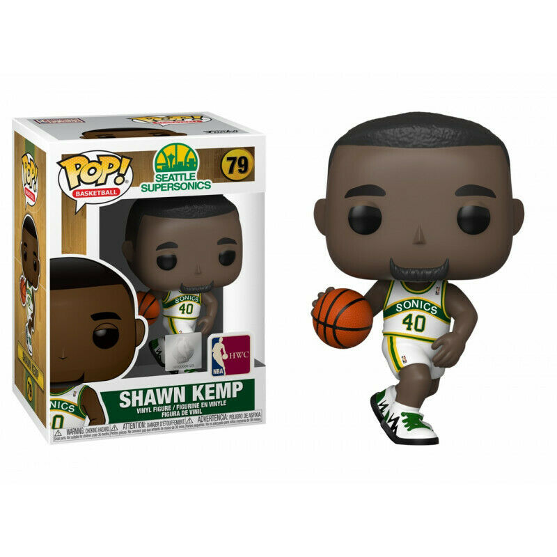 Photo du produit NBA Legends POP! Sports Vinyl figurine Shawn Kemp (Sonics home)